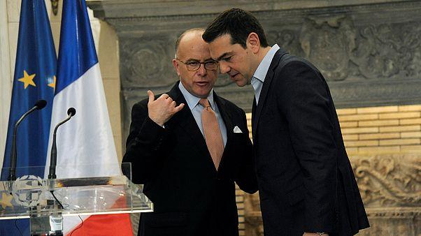 França reitera apoio à Grécia em Atenas