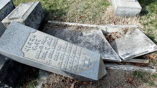 Nouvelle profanation d'un cimetière juif aux Etats-Unis