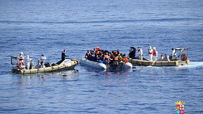 115 migrants secourus près de Tripoli en Libye