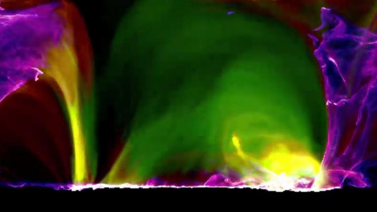 Image: Solar Flame Animation Still