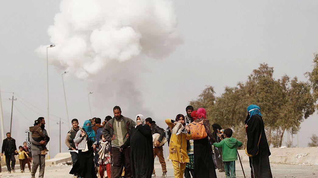 Iraque: Cruz Vermelha condena ataque químico em Mossul