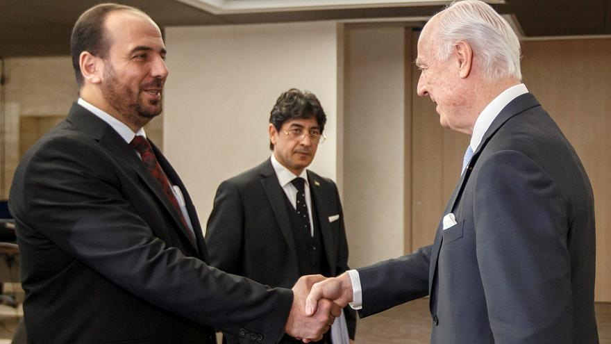 Optimismo en Ginebra tras la cuarta ronda de negociaciones de paz para Siria