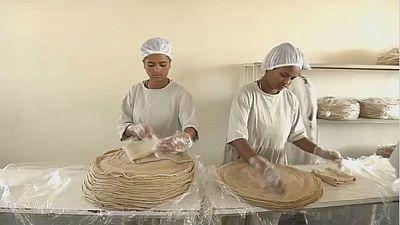 L'injera, le pain plat éthiopien se lance à la conquête du reste du monde