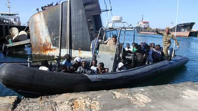 870 more migrants rescued from the Mediterranean