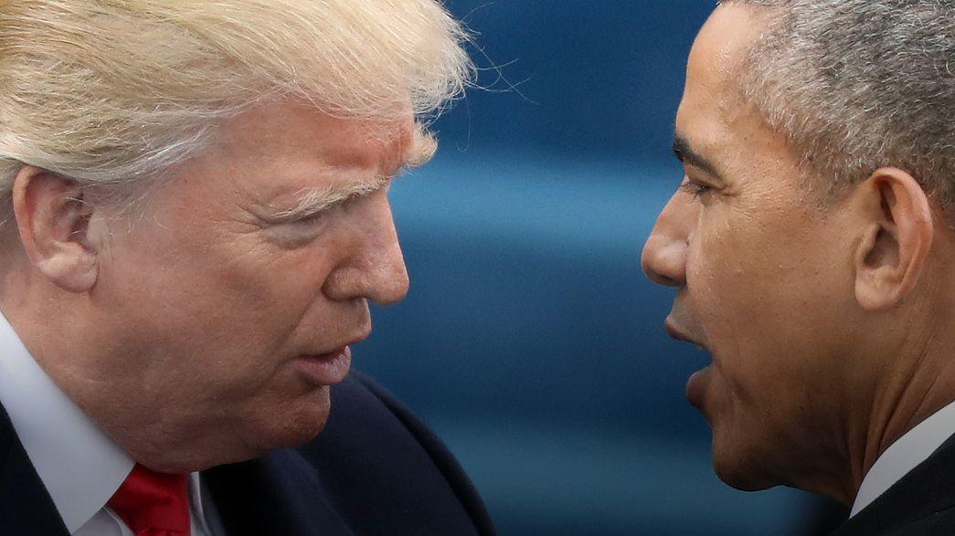 Donald Trump accuse Barack Obama de l'avoir mis sur écoute, sur Twitter