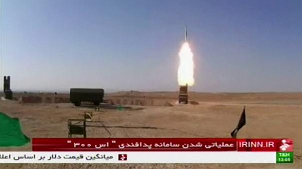 L'Iran ha testato il sistema missilistico russo S300