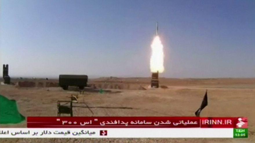 Test d'un missile russe, longue portée, en Iran