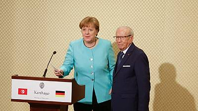 Tunisia: Merkel meets industry leaders, pledges about $263m developmental aid