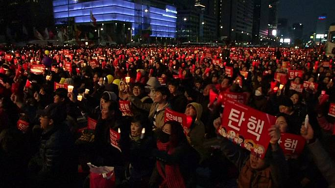 Pro and anti-Park rallies held in South Korea ahead of impeachment ruling