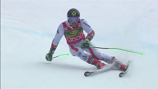 Hirscher re-writes World Cup history books with sixth straight overall title