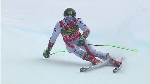 Marcel Hirscher collectionne les globes