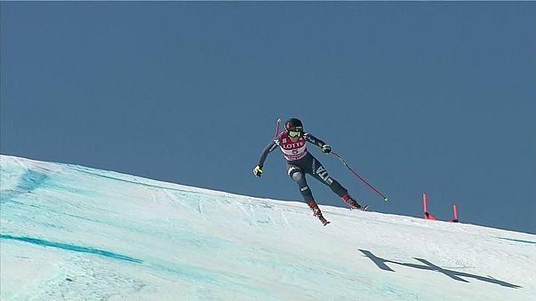 Esqui: Sofia Goggia conquista primeira vitória na Taça do Mundo