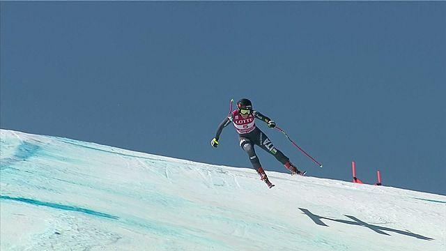 Première victoire pour Sofia Goggia