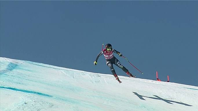 Alpine skiing: Goggia highlights breakthrough season with first career win