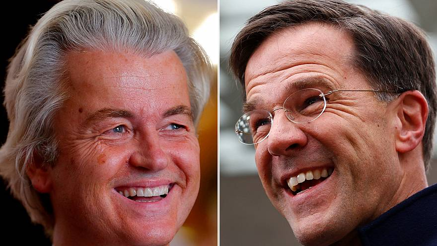 Rutte and Wilders vie for first place in Dutch election