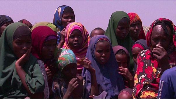 Seca causa 110 mortos em 48 horas e milhares de deslocados na Somália