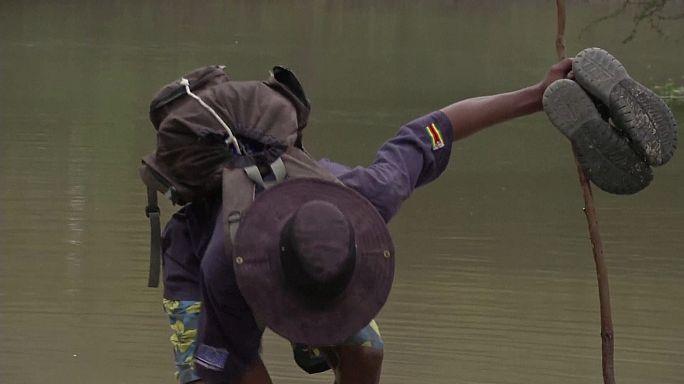Erst Dürre, dann Flut: Simbabwe bittet um Millionenhilfen