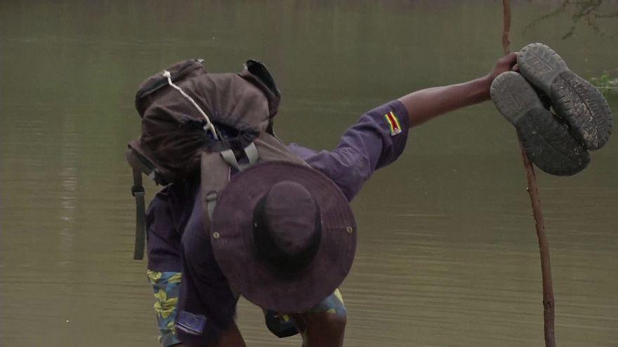 Las inundaciones dejan más de 250 muertos y daños multimillonarios en Zimbabue