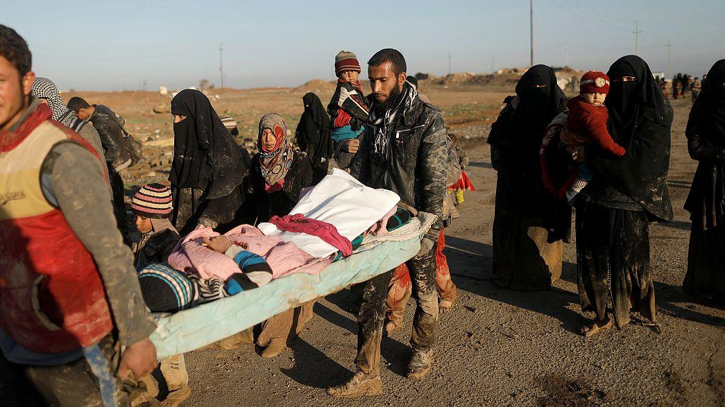Iraque: Reforço da ofensiva em Mossul e cada vez mais civis e fuga