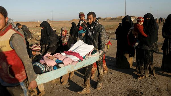 Iraqi forces launch a new push to take western Mosul
