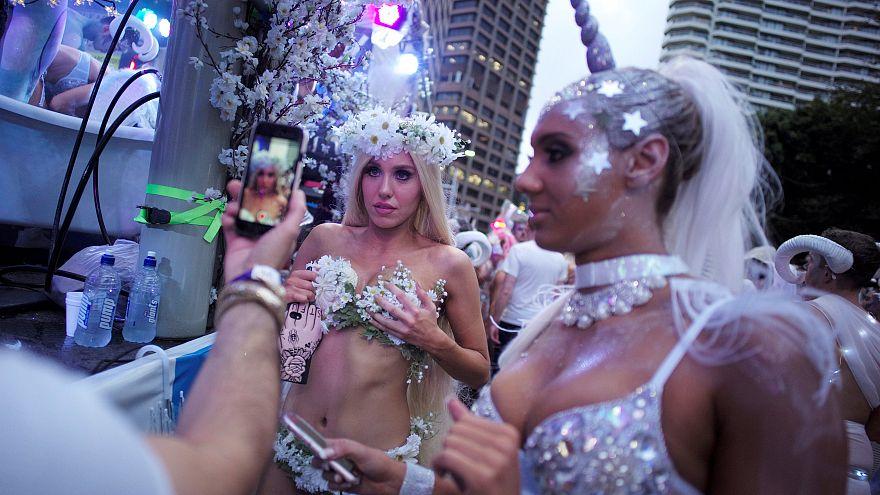 Sydney celebrates Gay and Lesbian Mardi Gras