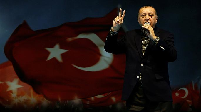 Erdogan makes Nazi comparison as row grows over banning of rallies in Germany