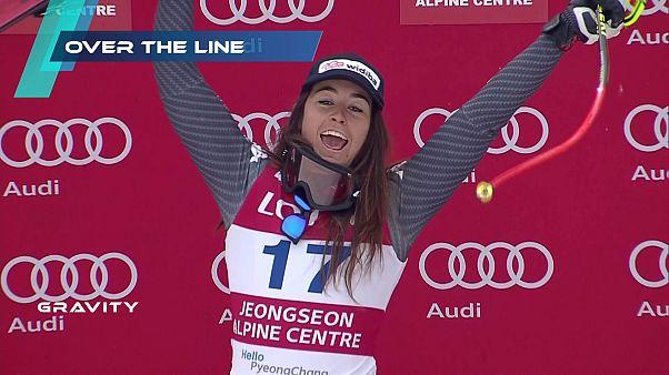 Sofia Goggia se met à l'heure olympique