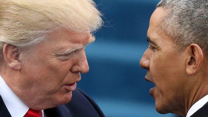 """Trump al Congresso Usa: """"Indagare su possibili abusi di potere di Obama"""". Lui replica: solo falsità"""