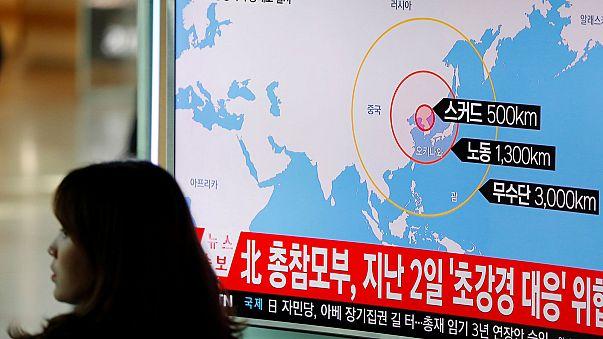Japón denuncia el impacto de varios misiles norcoreanos en su Zona Económica Especial