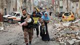 Plus de 45 000 personnes fuient les combats à Mossoul