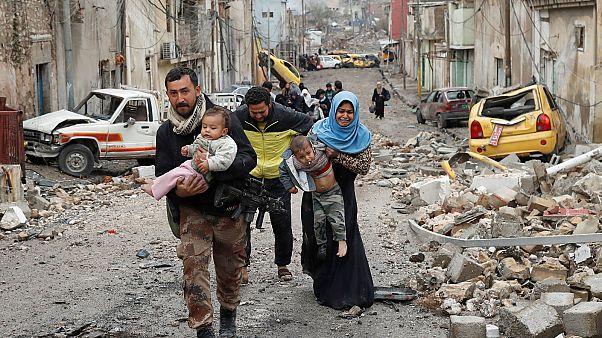 Iraque: denúncias de uso de armas químicas em Mossul