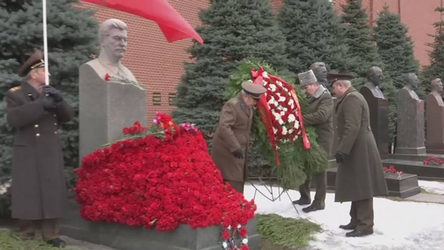 Communists mark anniversary of Stalin's death
