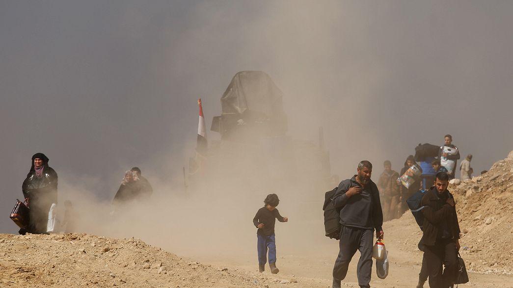 Tropas iraquianas avançam em direção ao centro de Mossul