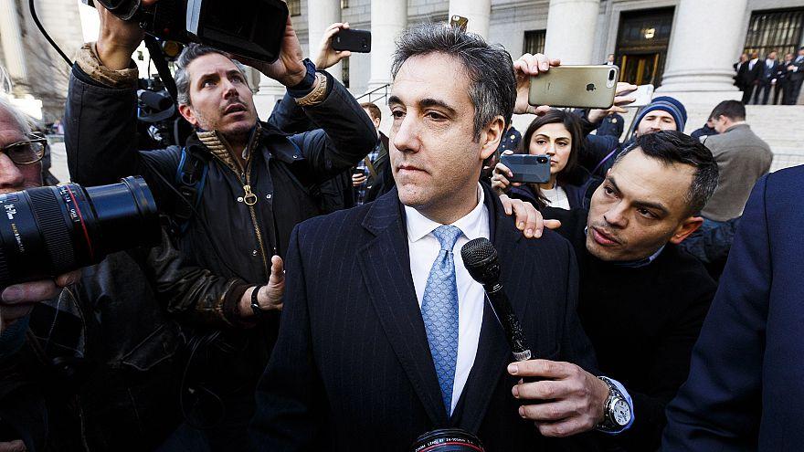 Image: Reports: New York prosecutors seek prison term for Michael Cohen