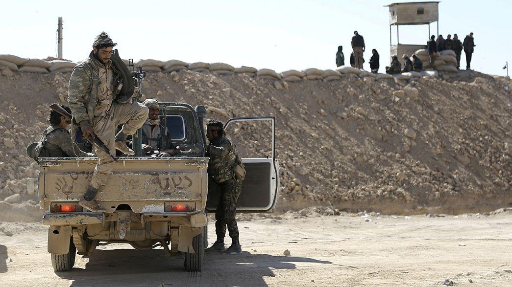 Cortada la principal ruta de abastecimiento del Estado Islámico entre Raqa y Deir al Zur