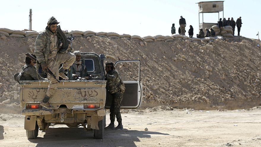 Coligação síria apoiada pelos EUA corta ligação terrorista entre Raqa e Deir al-Zour