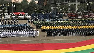 Mugabe joins other African leaders to celebrate Ghana's 60th Independence Day