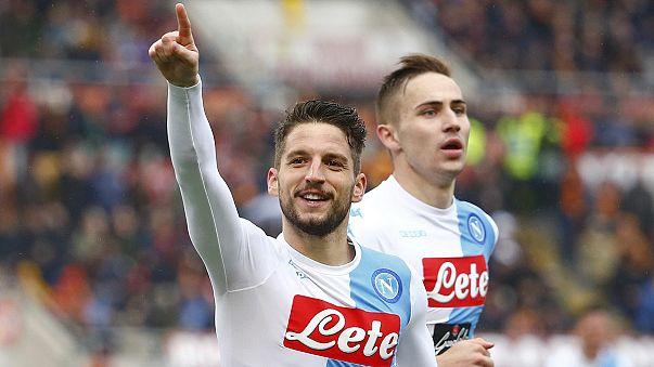 ASRom verliert Verfolgerduell der Serie A gegen SSC Neapel