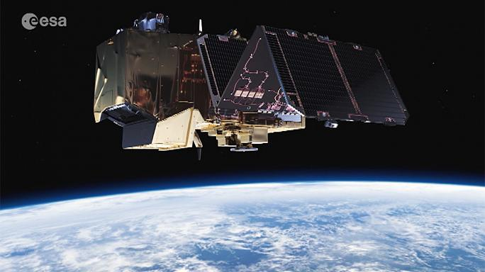 """برنامج """"سنتينل"""" لرصد الأرض في وكالة الفضاء الأوروبية"""