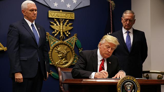Iraq off 'banned list' in new Trump US travel order
