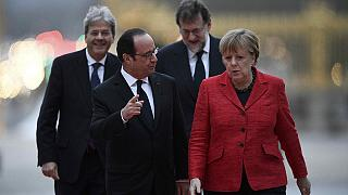 Francois Hollande and Angela Merkel call for 'multi-speed Europe'