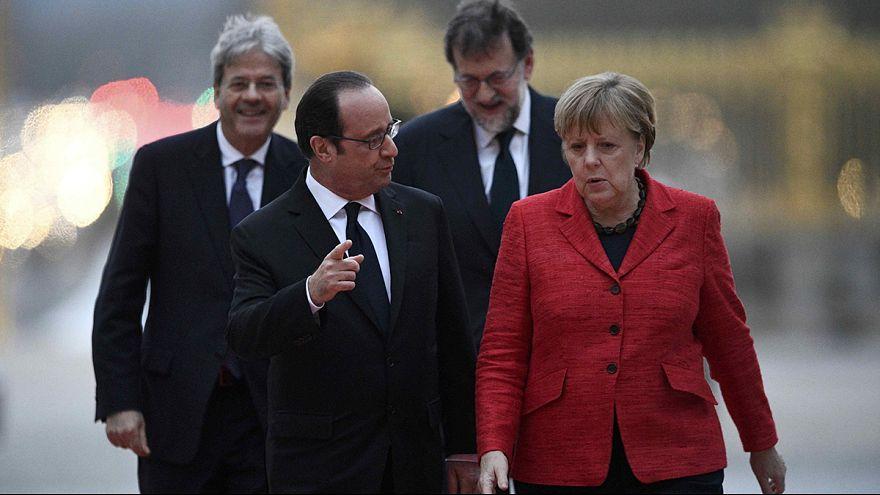 """Главы 4 государств ЕС договорились о """"Европе на разных скоростях"""""""