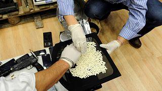 Félmillió amfetamin tablettát foglalt le a görög rendőrség