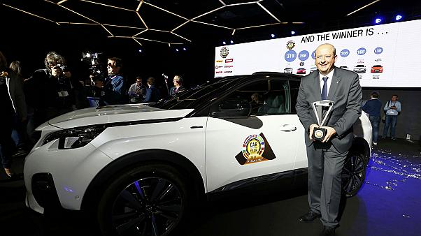 Peugeot 3008 wins European Car of the Year