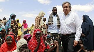 UN chief on emergency visit to Somalia: 'The world needs to act now'