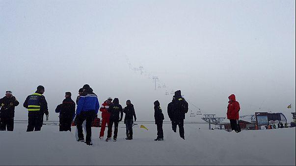 Avalancha sin víctimas en los Alpes franceses