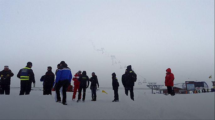 Fransa'da kayak merkezinde çığ düştü