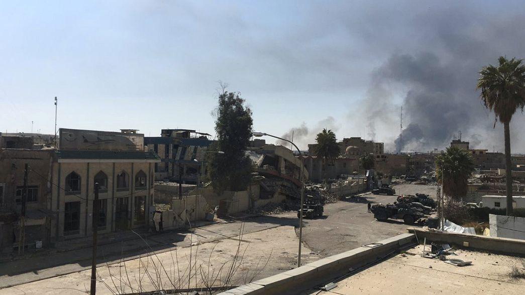 Forças iraquianas reconquistam edifícios chave em Mossul