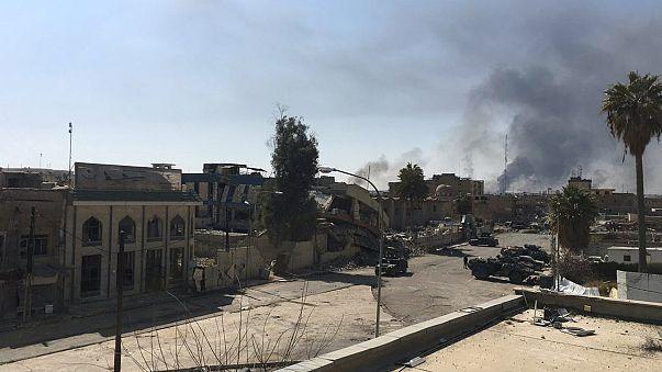 Las fuerzas iraquíes retoman la sede del Gobierno provincial en Mosul y la sucursal del Banco Central