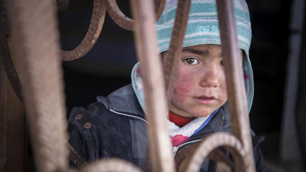 """Los niños sirios sufren """"estrés tóxico"""" como consecuencia de la guerra"""